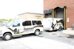 Uptown Music Collective Van