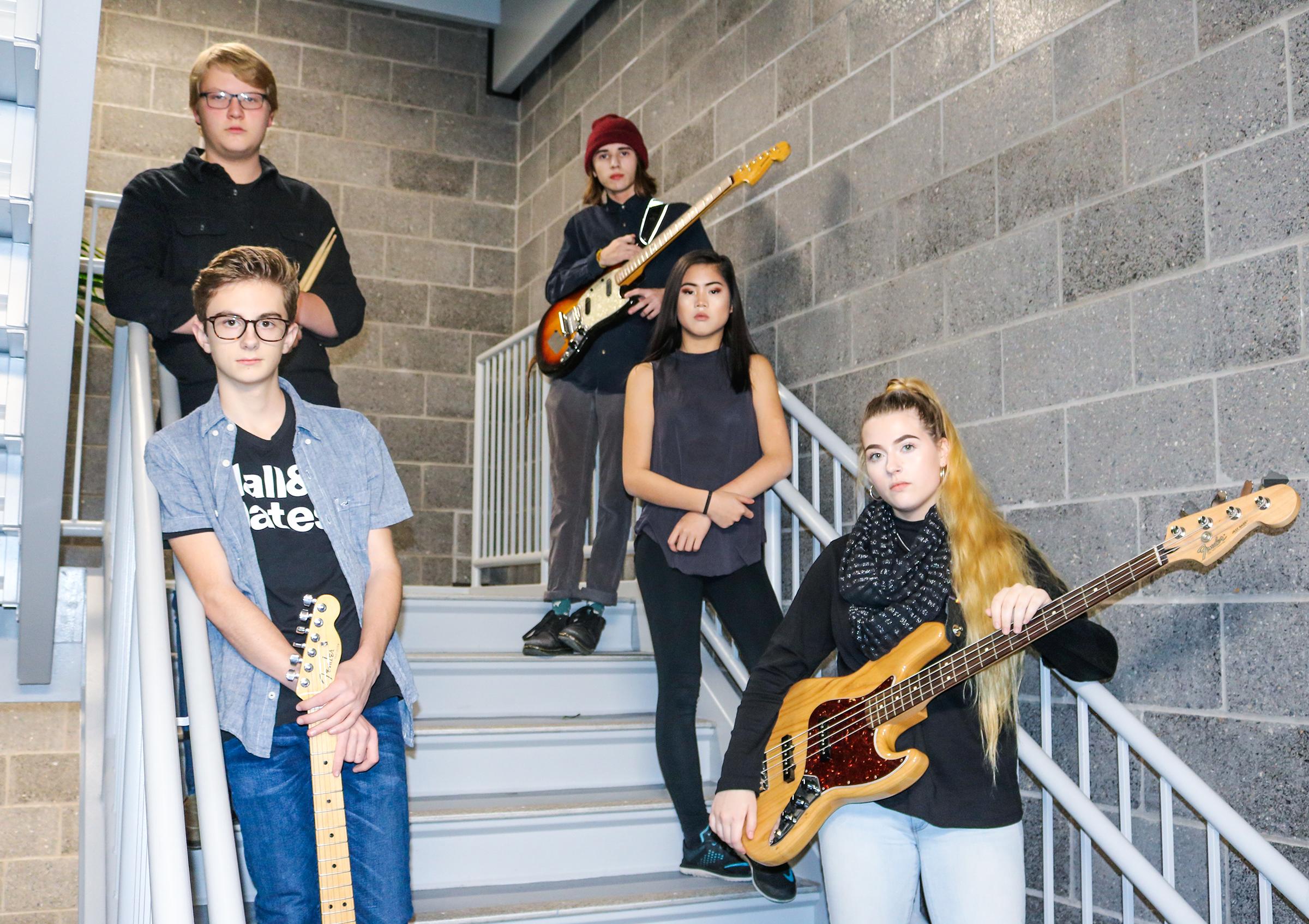 3rd Street Blues Band Press Shoot Photo