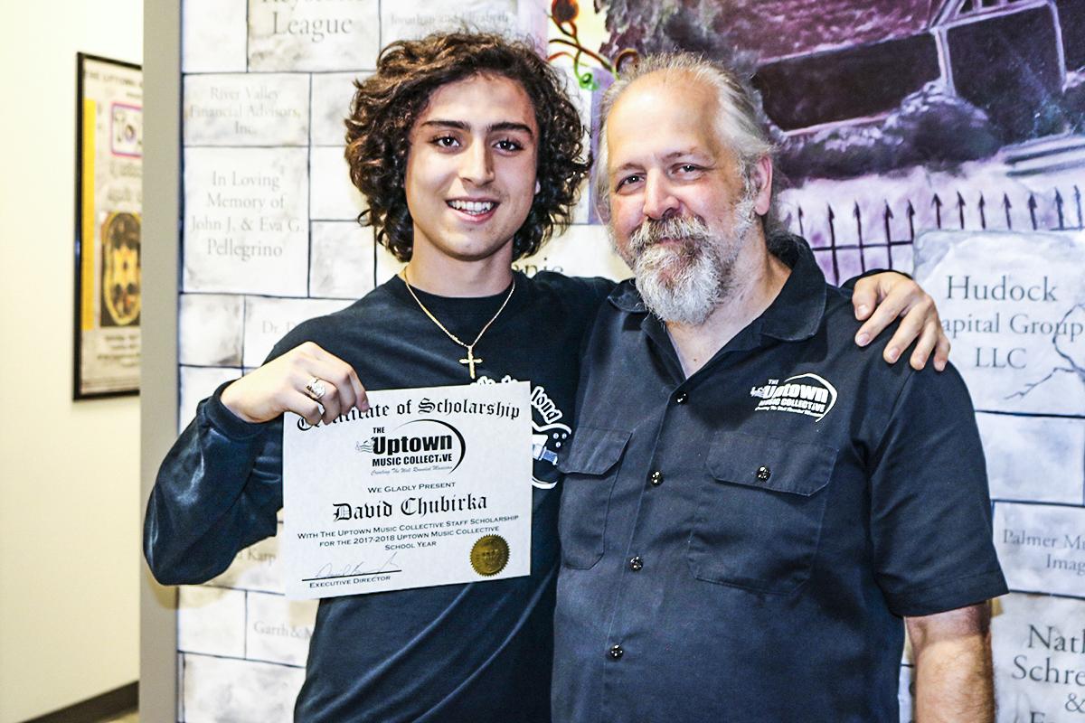 David Chubirka Receives UMC Scholarship