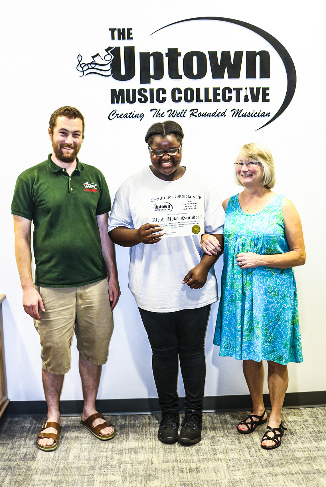 The Alice Hileman Memorial Scholarship Awarded to Aleah Moko - Saunders