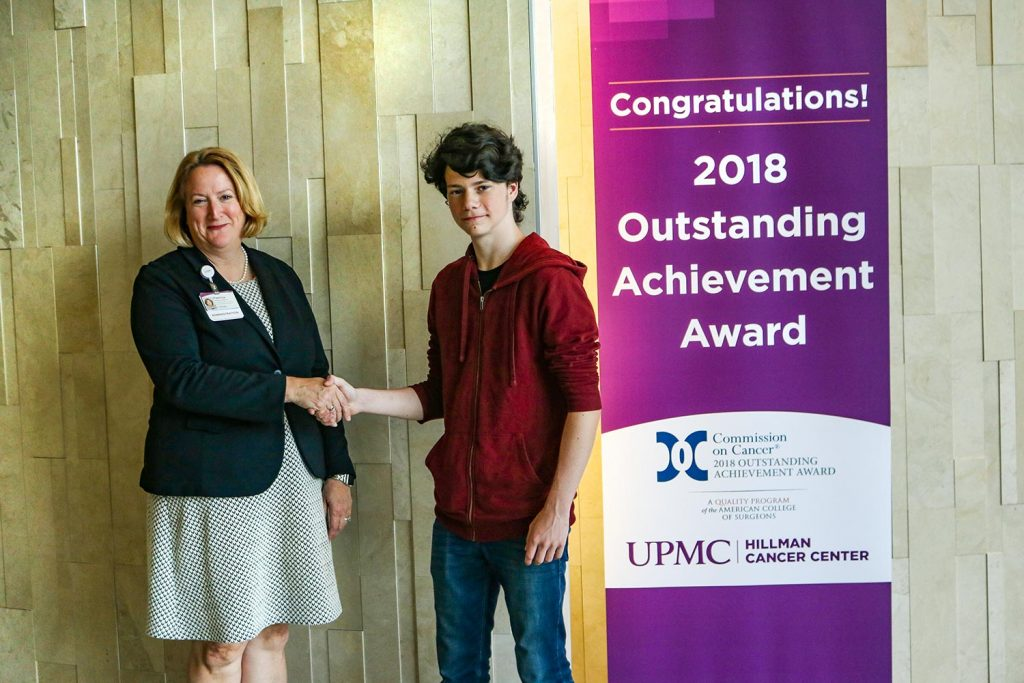 The UPMC Susquehanna Scholarship for the 2019 - 2020 Fiscal Year was presented to AJ Chapman.