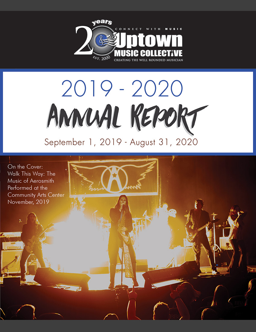 2020-2021 Annual Report Cover Image