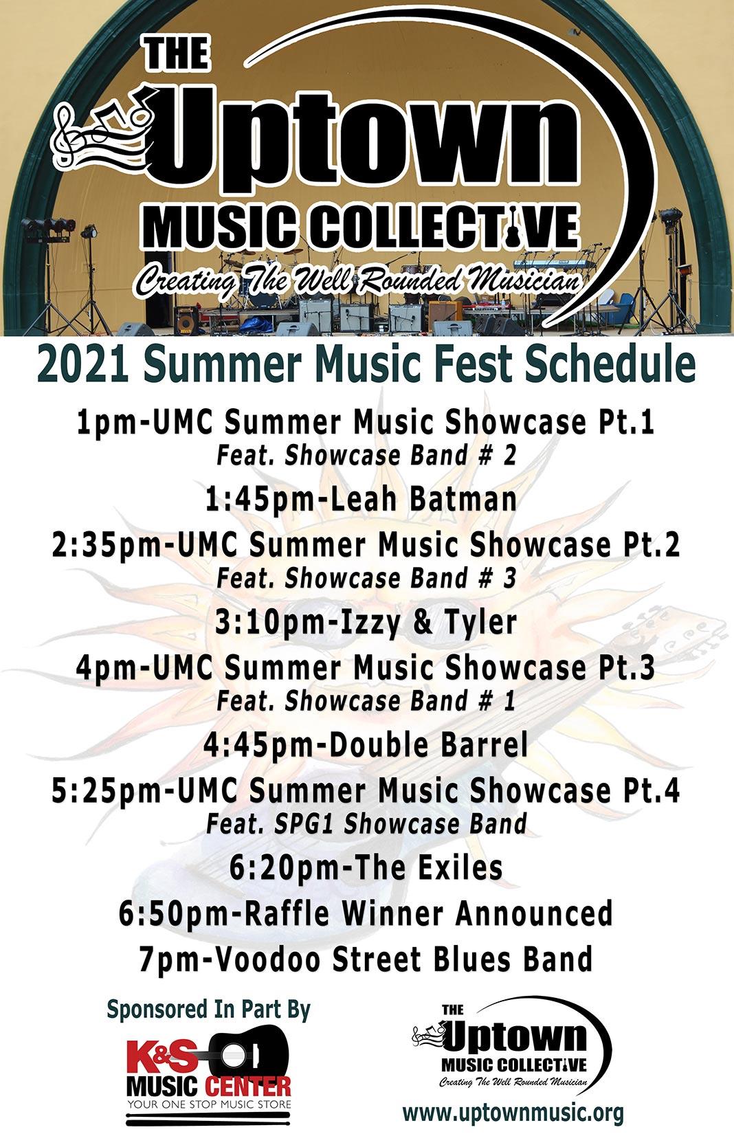 Summer Music Festival 2021 Schedule