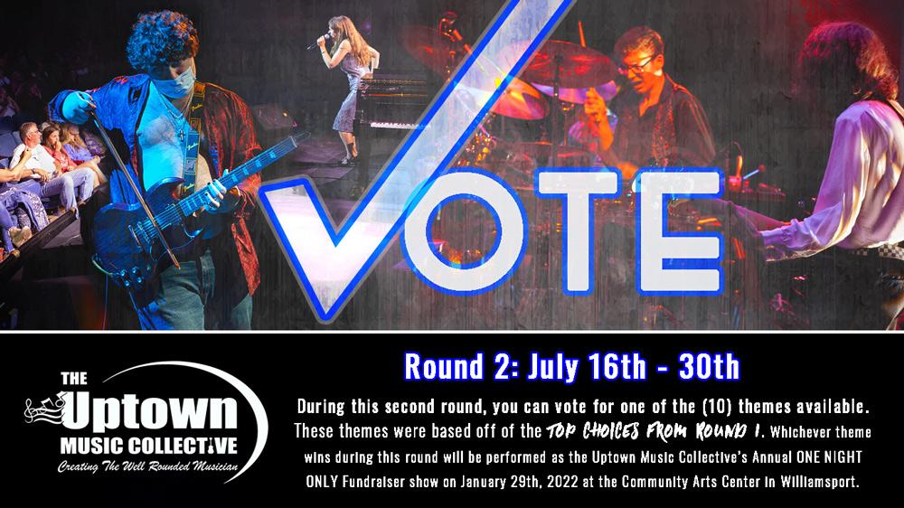 Cast Your Vote - Round 2